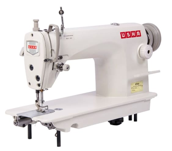 Buy Usha 8500B Single Needle Lock Stitch Heavy Duty Sewing Machine ...
