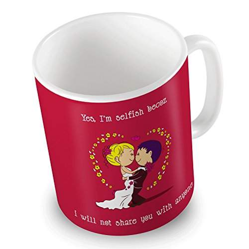Buy Indigifts Valentine Gifts For Girlfriend Love Quote Printed Red Coffee Mug 330 Ml Valentine Gift For Boyfriend Love Valentine Day Gift Love Gifts For Boyfriend Wife Husband Features Price Reviews