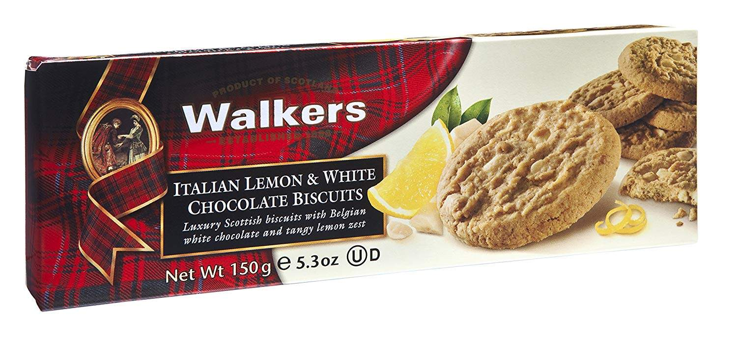 Buy Walkers Italian Lemon White Chocolate Biscuits 150 Gm Features Price Reviews Online In India Justdial